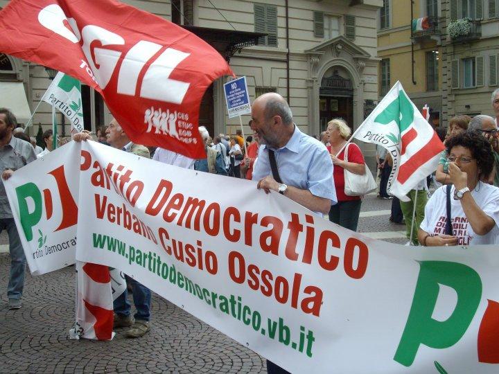 manifestazione torino 17 settembre 2011